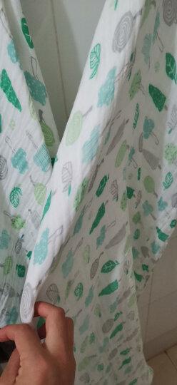 米乐鱼 新生儿纱布浴巾 婴儿洗澡毛巾儿童浴巾毛巾被 礼物盒 晒单图
