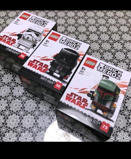 【乐高专营店】乐高(LEGO)积木玩具 大头公仔方头仔系列 钢铁侠 41590(18年停产) 晒单图