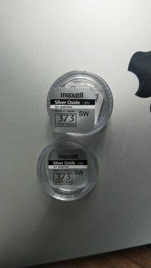 盛诺美 手表纽扣电池 日本原装进口电池村田MURATA 收购 代替原索尼S0NY)1.55V 373/SR916SW独立包装 晒单图