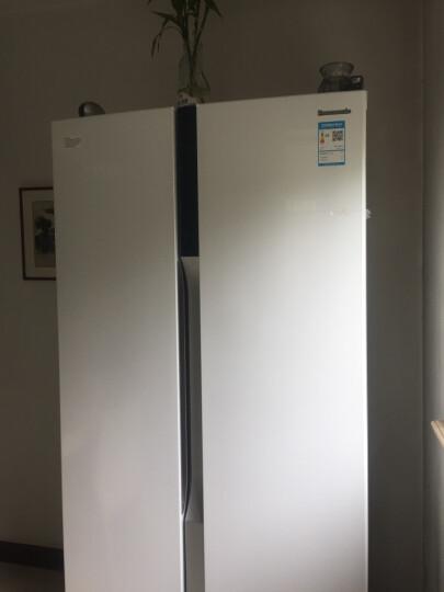 松下(Panasonic)NR-W56S1-W 570升对开门变频风冷无霜冰箱 AG银离子双循环制冷 NR-W56S1-W 晒单图