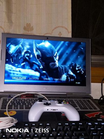 微软 (Microsoft) Xbox无线控制器/手柄 白色   带3.5mm耳机接头 蓝牙连接 Xbox主机电脑平板通用 晒单图