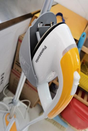 松下(Panasonic)挂烫机 家用熨斗 手持蒸汽挂烫机 头部加热 3挡调节 NI-GSA055 橙色 晒单图