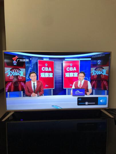 夏普(SHARP)夏普45英寸超薄全高清wifi智能液晶平板电视机日本原装面板 45英寸黑色 晒单图
