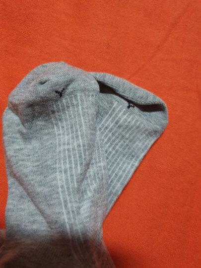 JQJQ 纯棉儿童袜子男童袜春秋宝宝袜子学生袜女童短袜运动白袜子透气吸汗6双装纯色百搭 6双灰色 脚长22-24厘米36-40码 晒单图