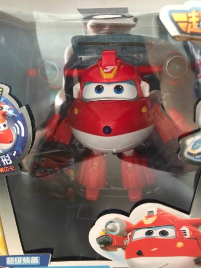 超级飞侠7玩具奥迪双钻(AULDEY)大号益智变形机器人乐迪小爱奥迪双钻大套装男孩女孩玩具儿童礼物 大号变形机器人-卡文710270 晒单图