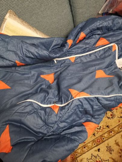 飞天 全棉面料多功能抱枕被子两用被子大号 办公室靠枕 加大空调被办公室午休被靠垫 可爱奶牛大号 1.4*1.8m(可做空调被) 晒单图