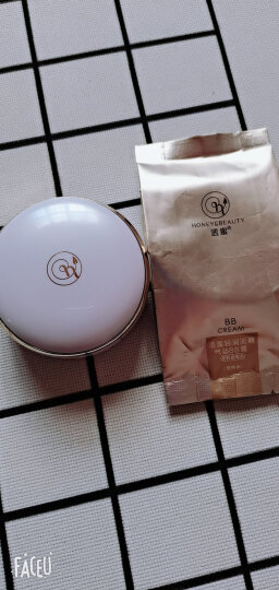 透蜜气垫bb霜隔离霜裸妆素颜霜遮瑕膏气垫粉底液蘑菇头气垫化妆品 亮肤色 晒单图