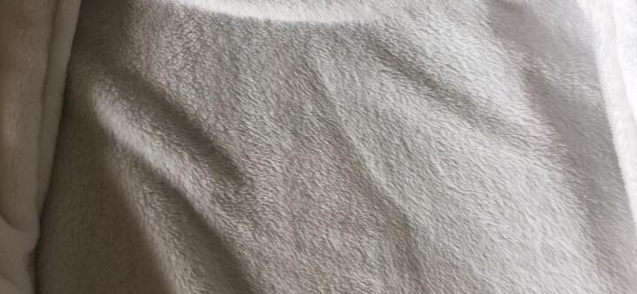 三利 纯棉华夫格休闲睡袍 星级酒店会所浴衣 男女汗蒸桑拿服 浅蓝色 晒单图
