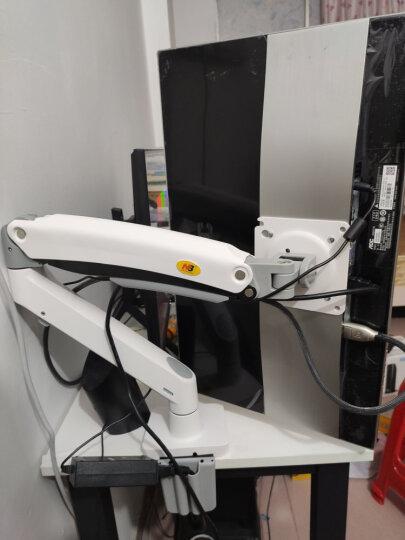 NB 显示器支架 桌面电脑显示器旋转升降显示器支架臂 显示器桌面增高升降支架 22-35英寸 晒单图