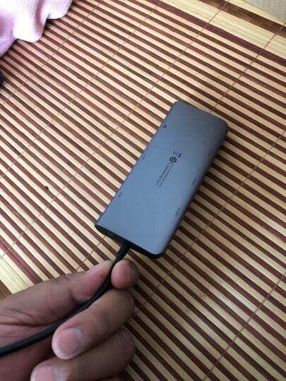 绿联 Type-C扩展坞 通用苹果电脑MacBook华为P30手机USB-C转HDMI线转换器4K投屏VGA拓展坞转接头网口分线器 晒单图