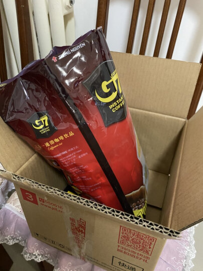 越南进口 中原G7三合一速溶咖啡1600g (16gx100条) 晒单图