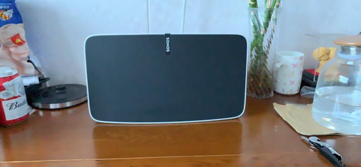 SONOS PLAY:5 智能音响 家庭智能音响系统 WiFi无线 书架音响 多房间 音响家用 非蓝牙(白色) 晒单图