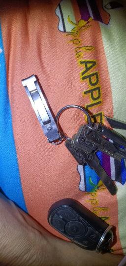 司顿STONE德国进口不锈钢指甲刀便携指甲剪折叠式指甲钳大单剪可挂钥匙扣折叠指甲剪 晒单图