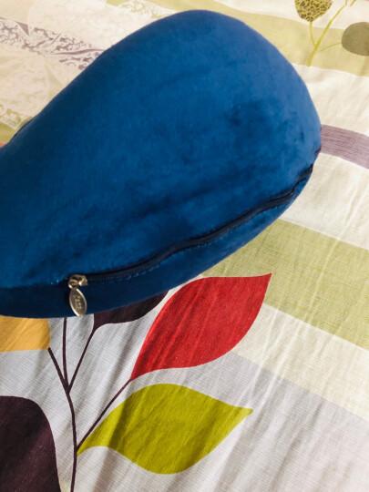 祥伽 u型枕护颈枕脖枕飞机u形旅行枕午睡颈枕眼罩睡眠遮光耳塞 灰色驼峰记忆枕 晒单图