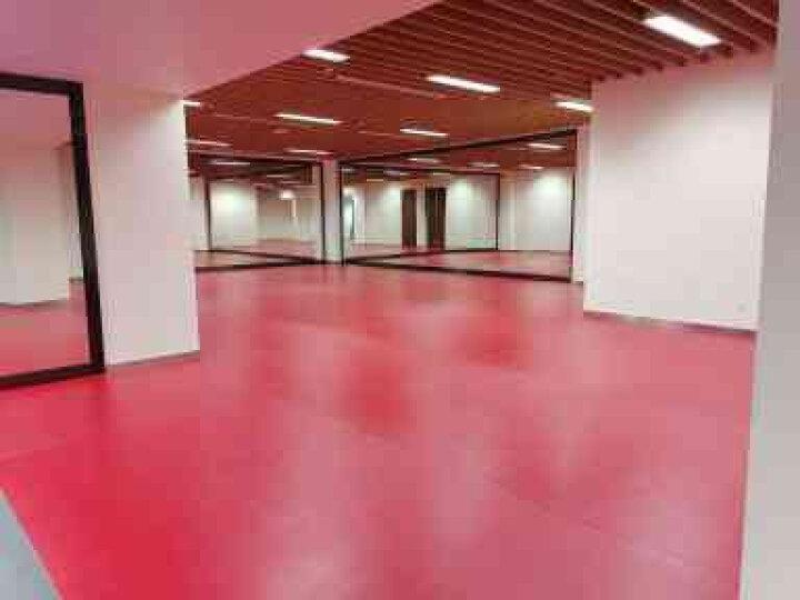 欧百娜健身房地垫PVC塑胶地板羽毛球运动地胶乒乓球篮球场地防滑地胶垫 宝石纹4.5我们安装 晒单图