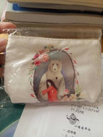 名夏卡通可爱帆布零钱包韩版风范钥匙包甜美淑女复古风硬币包创意收纳 森林之光 晒单图