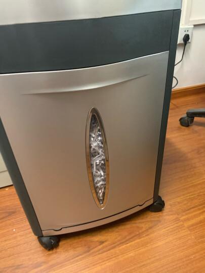 科密(comet)铂金刚 大型长时间办公商用碎纸机 33L大容量文件纸张粉碎机 碎卡光盘 晒单图