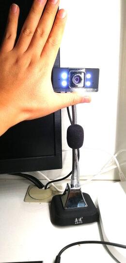 奥速(ASHU) H100 高清720P智能电视摄像头网络电脑摄像头视频带麦克风台式电脑笔记本 晒单图