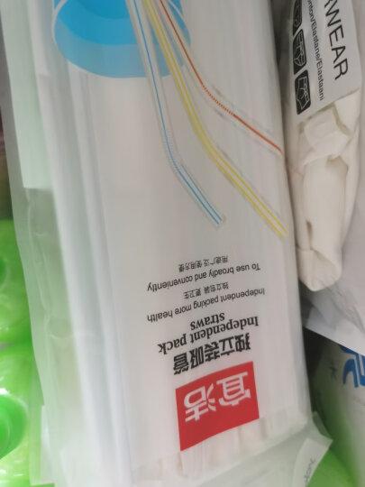 宜洁 一次性多变吸管餐具卫生艺术吸管50只装Y-9913 晒单图