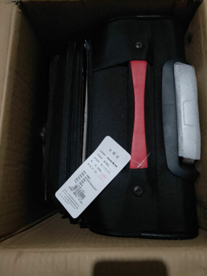 汉客(HANKE)H8662咖啡色24英寸耐磨万向轮拉杆箱男女行李箱商务出差旅行箱子 可扩容 晒单图