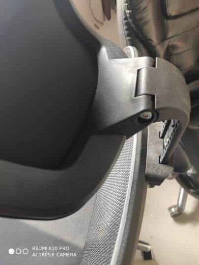 西昊(SIHOO) 人体工学电脑椅子 家用老板椅电竞椅 靠背转椅座椅 撑腰办公椅可躺 M18橙色 晒单图