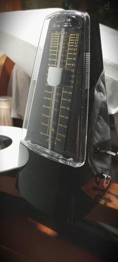 CHERUB小天使机械节拍器钢琴吉他小提琴古筝通用节拍器 WSM-330白色 晒单图