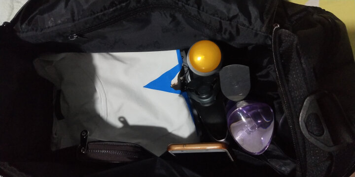 七匹狼(SEPTWOLVES)旅行包男士手提行李包健身包大容量商务短途出差旅行袋 升级款 晒单图