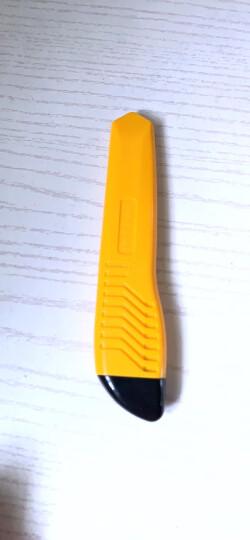 得力(deli)大号通用办公家具美工刀/裁纸刀 手动锁定 颜色随机 办公用品 2003 晒单图