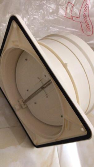 潜水艇(Submarine) 抽油烟机止回阀 烟道止逆阀 四个通用型管径 18-15cm 晒单图
