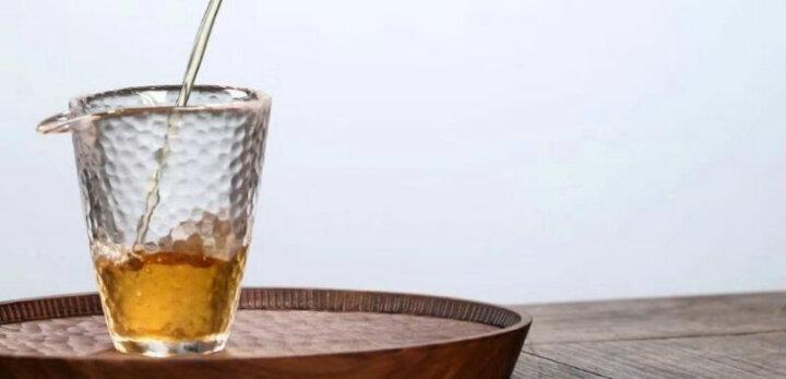 老同志普洱茶普洱生茶9948【201】2020年普洱生茶饼茶叶357克/饼 整提(7饼) 晒单图