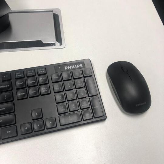 飞利浦(PHILIPS)无线键盘鼠标套装 静音防水 无线键鼠套装 超薄家用办公台式电脑笔记本无线套装 C500法拉利红 晒单图
