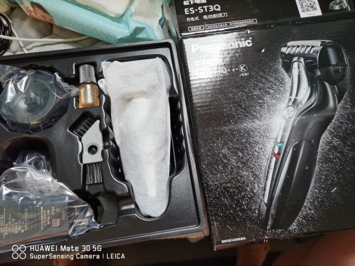 松下(Panasonic)电动剃须刀刮胡刀日本进口智能三刀头低电显示ES-LT2A 晒单图
