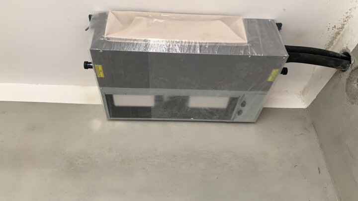 美的(Midea)中央空调一拖四家用全直流变频风管机多联机客厅厨房吊顶空调卡机Wifi智控 十年包修 大3匹一拖二 适用60-80平方  V80W 晒单图