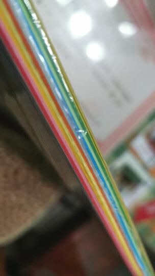 科朗鑫盛 彩色卡纸硬A4彩色复印纸打印纸a4彩纸硬卡纸DIY手工折纸 五色混装【1000张】 A4 彩纸80g 晒单图