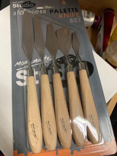 蒙玛特 油画刮刀 颜料调色刀 油画刀 水粉丙烯颜料工具 晒单图