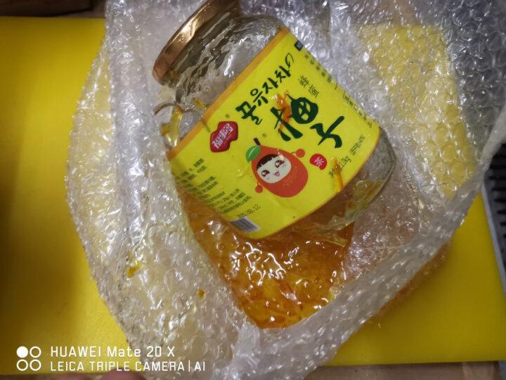 福事多蜂蜜柚子茶1kg大瓶装 韩国风味冲饮果汁茶饮品搭配麦片 晒单图