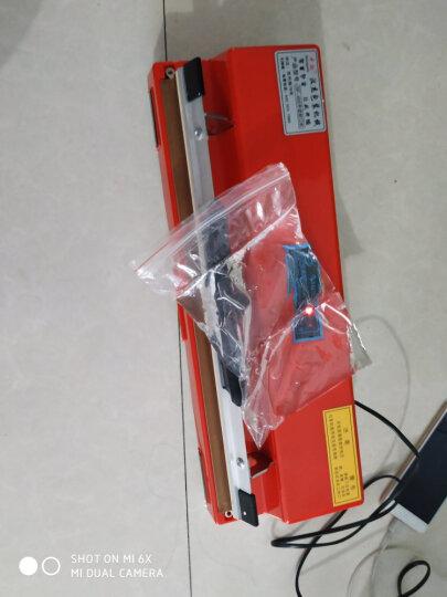 中敏封口机 400台式手压封口机商用 食品茶叶铝箔塑料纸袋塑封口机 3mm家用热封机 400封装机 新高温布 晒单图