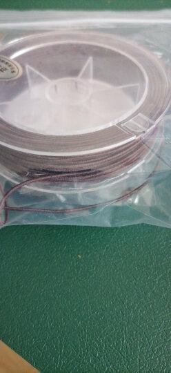 彩荷 进口diy包芯弹力线松紧线佛珠绳手串绳弹力线手链绳子穿金刚菩提 直径1.2mm一卷 晒单图