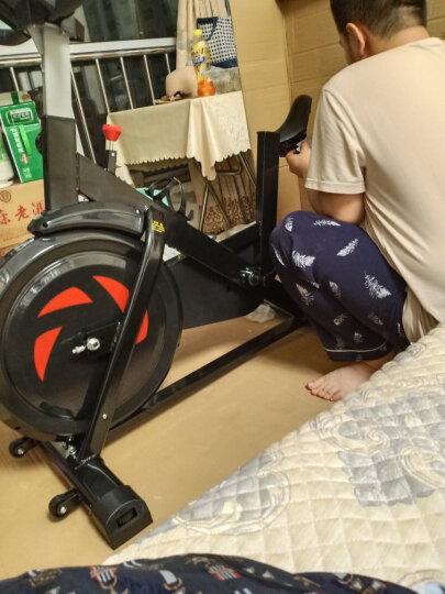 【蓝牙免费APP】英尔健(yingerjian)动感单车家用减肥器材室内健身器材静音健身车脚踏自行车 磁控静音(QM1002) 晒单图