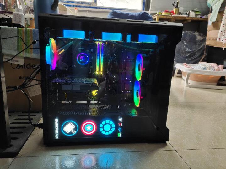 追风者(PHANTEKS) 515ETG 双侧钢化玻璃RGB模组式电竞水冷电脑机箱(3毫米铝材/配风扇/支持280+360水冷) 晒单图