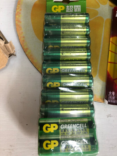 超霸(GP)1号大号碳性电池干电池20粒装 适用于燃气灶/燃气热水器/手电筒等 R20P 晒单图