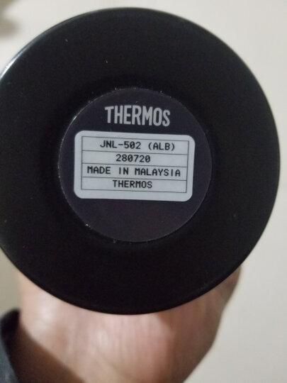膳魔师(THERMOS)保温杯原装进口男女泡茶杯真空不锈钢轻量水杯便携时尚保温保冷杯子 JNL系列 进口JNL-503淡雅紫 晒单图