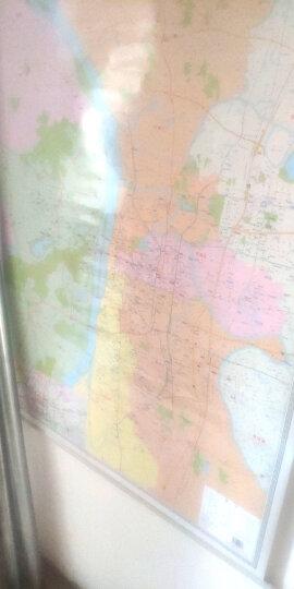 2020新版 长沙市城区图 地图挂图 0.9*1.2m 政区交通概况 湖南地图出版社 晒单图