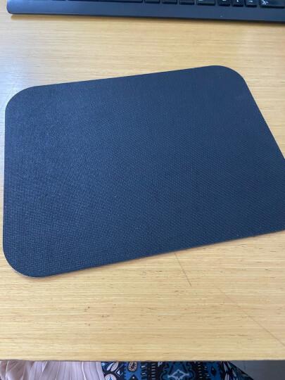 得力(deli)耐磨办公游戏鼠标垫 办公用品 黑色3692 晒单图