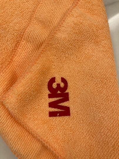 3M洗车毛巾擦车布洗车布细纤维强吸水毛巾汽车用品 5条装40cm*40cm颜色随机 晒单图