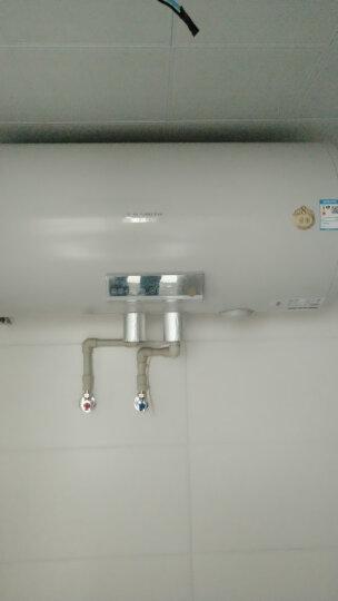 史密斯(A.O.SMITH)100升电热水器 金圭内胆8年包换 免换镁棒 速热节能 遥控预约 中温保温京品家电 E100MDQ 晒单图