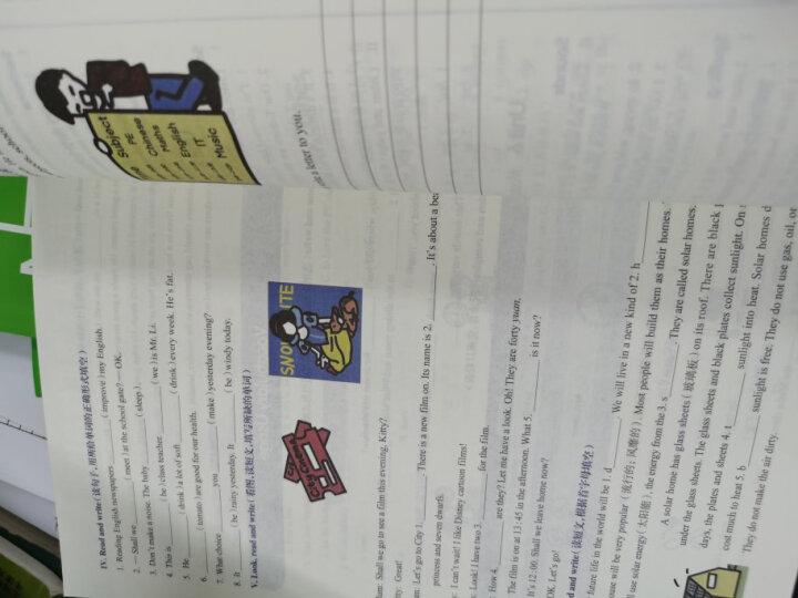 全新英语阅读:五年级·阅读理解 晒单图