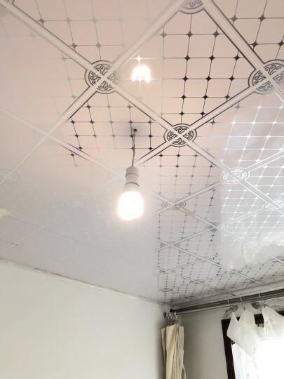 雷士照明(NVC)23w暖白光 节能灯4000K E27大口螺旋灯泡球泡 大功率瓦数光源家用商用 晒单图
