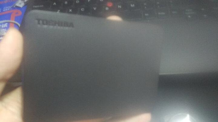 东芝(TOSHIBA) 3TB USB3.0 移动硬盘 V9系列 2.5英寸 兼容Mac 超大容量 密码保护 轻松备份 高速传输 清新白 晒单图