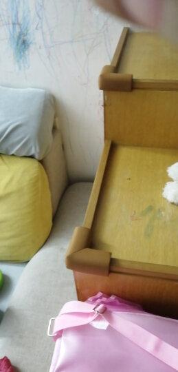 Babyprints防撞角宝宝桌角护角儿童婴儿防碰撞磕碰茶几保护套12个装 送3M双面胶 木色 晒单图